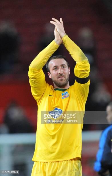 Crystal Palace's Glenn Murrray celebrates