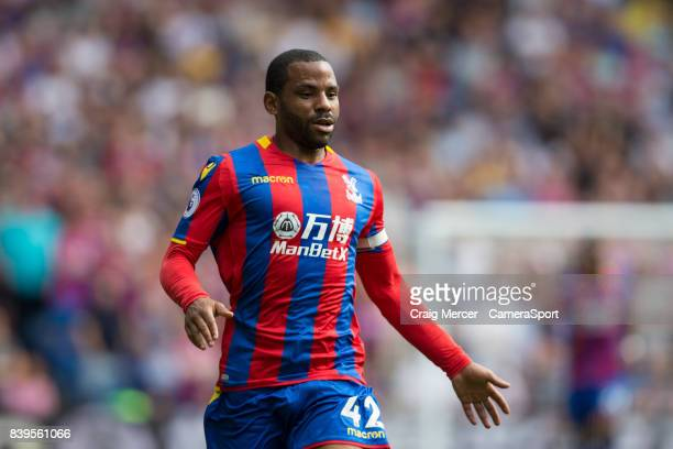 Crystal Palace's Jason Puncheon during the Premier League match between Crystal Palace and Swansea City at Selhurst Park on August 26 2017 in London...
