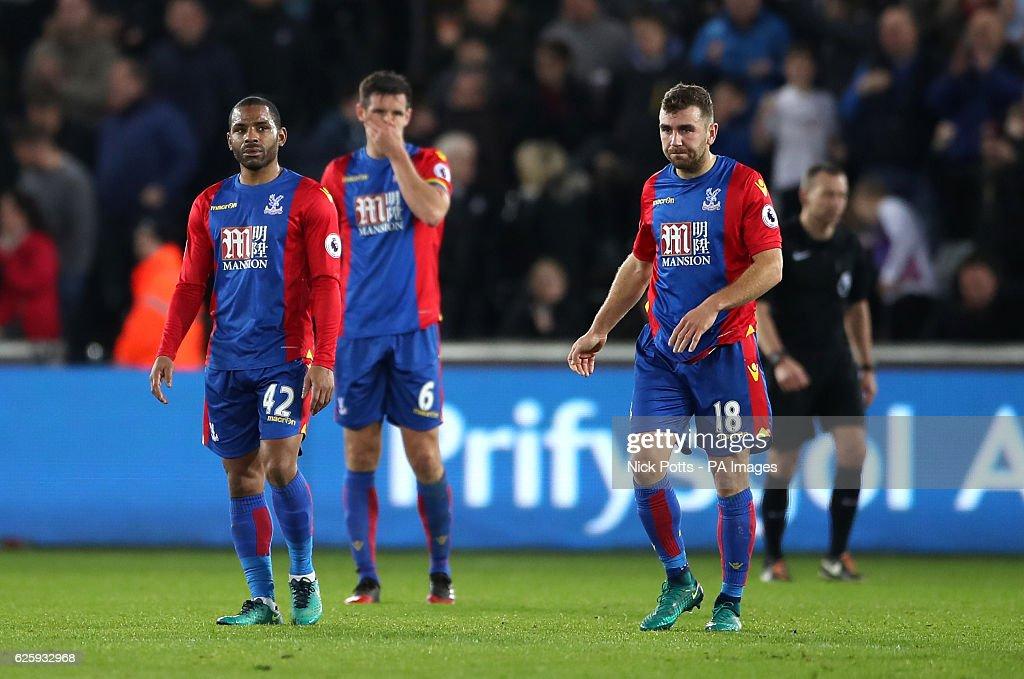 Swansea City v Crystal Palace - Premier League - Liberty Stadium : News Photo