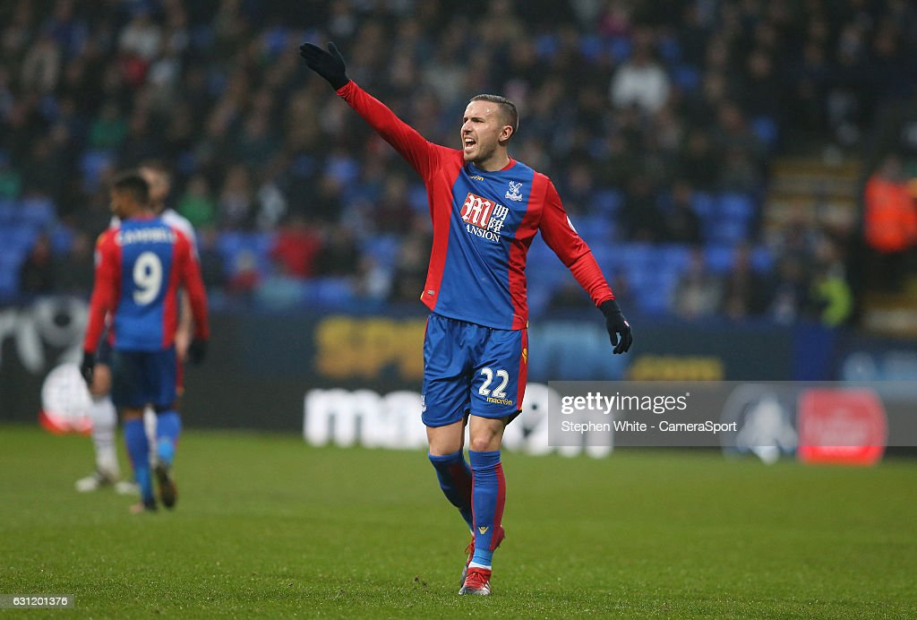 Bolton Wanderers v Crystal Palace - The Emirates FA Cup Third Round : News Photo
