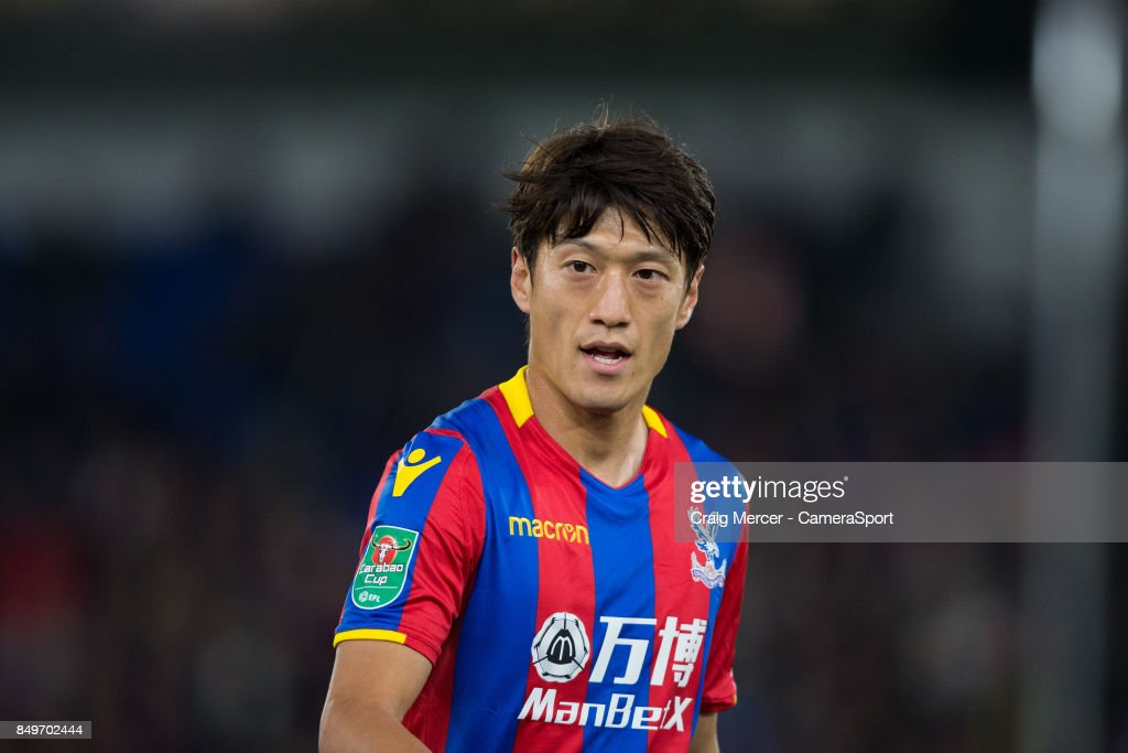 Crystal Palace's Lee Chung-Yong during the Carabao Cup Third Round match between Crystal Palace and Huddersfield Town at Selhurst Park on September 19, 2017 in London, England.