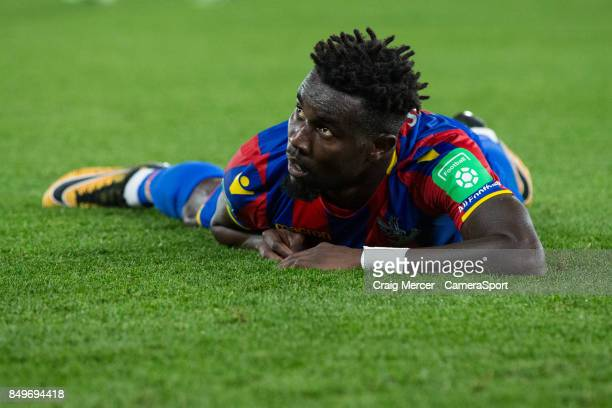 Crystal Palace's Pape N'Diaye Souare during the Carabao Cup Third Round match between Crystal Palace and Huddersfield Town at Selhurst Park on...