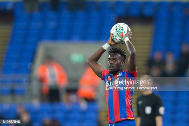 Crystal Palace's Pape N'Diaye Souare returns to action during the Carabao Cup Third Round match between Crystal Palace and Huddersfield Town at...