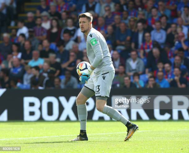 Crystal Palace's Wayne Hennessey during Premier League match between Crystal Palace and Huddersfield Town at Selhurst Park Stadium London England on...