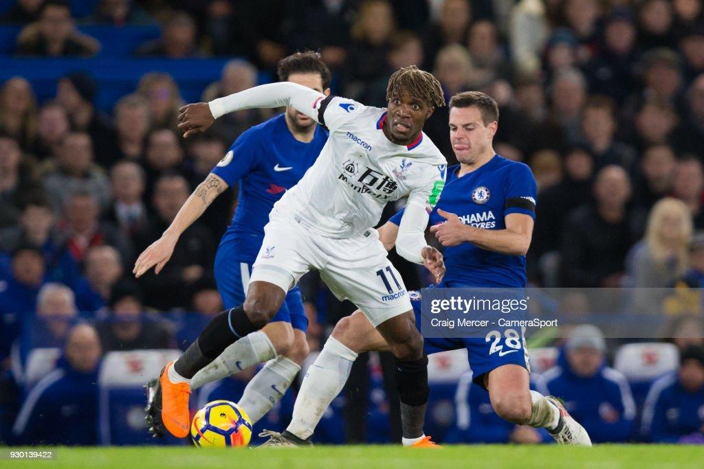 Chelsea v Crystal Palace - Premier League : Nachrichtenfoto