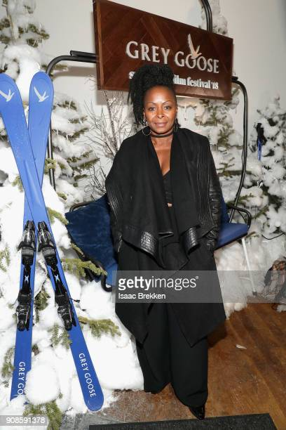Crystal R Fox attends the Burden after party at Sundance Film Festival 2018 at The Grey Goose Blue Door on January 21 2018 in Park City Utah