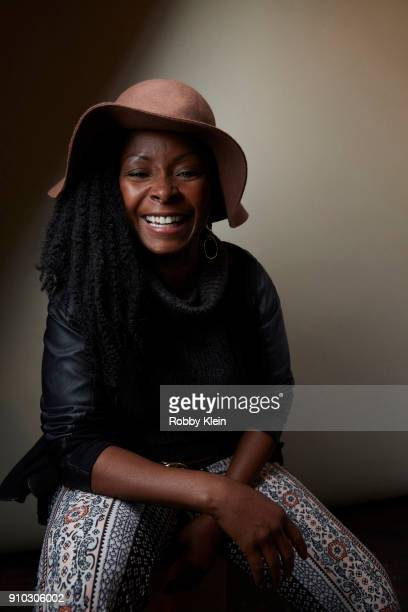 Crystal R Fox from the fim 'Burden' poses for a portrait at the YouTube x Getty Images Portrait Studio at 2018 Sundance Film Festival on January 21...