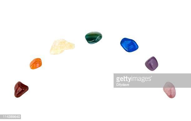 crystal rainbow - chakra bildbanksfoton och bilder