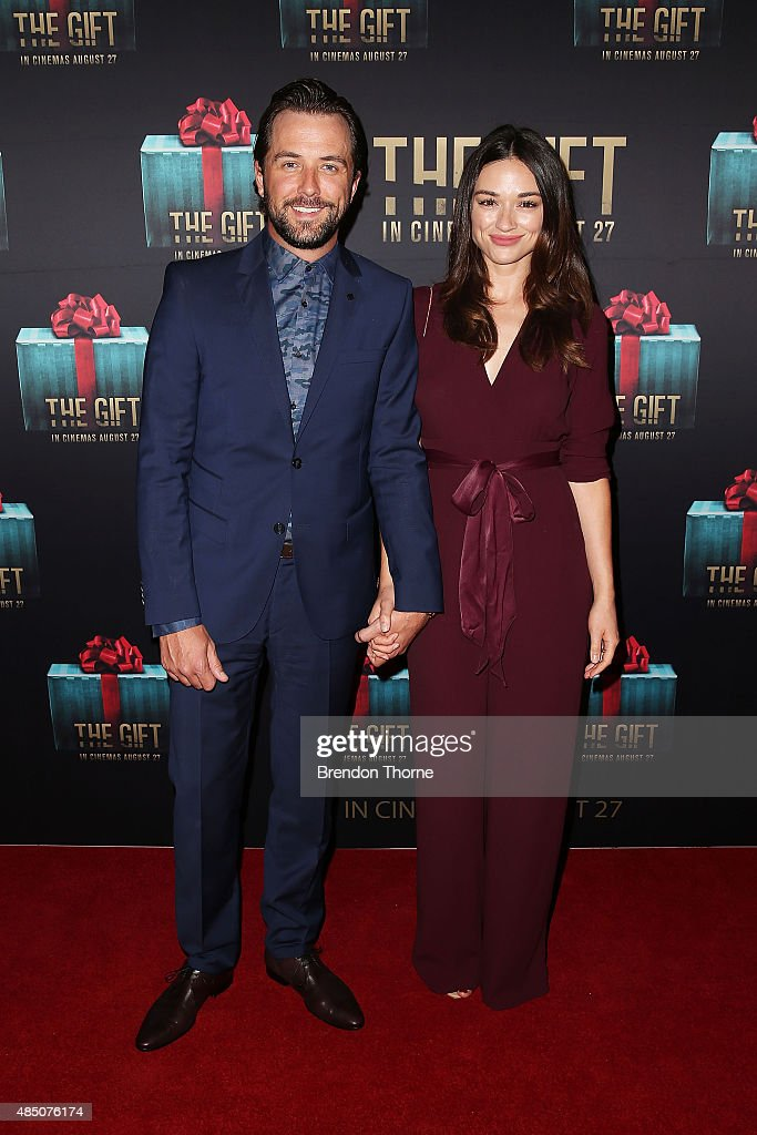 Crystal Reed and Darren McMullen arrive ahead of 'The Gift' Sydney Premiere at Event Cinemas George Street on August 24, 2015 in Sydney, Australia.