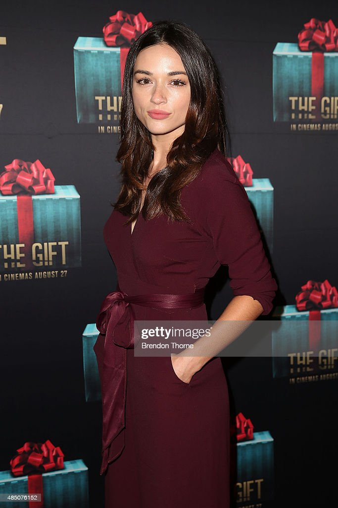 Crystal Reed arrives ahead of 'The Gift' Sydney Premiere at Event Cinemas George Street on August 24, 2015 in Sydney, Australia.