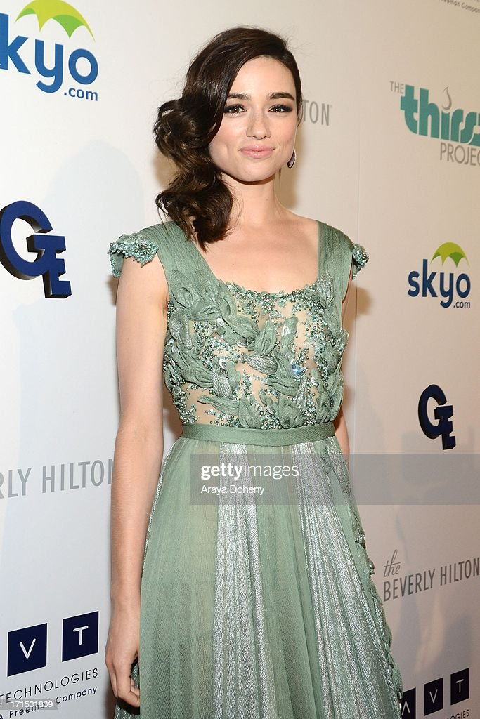 Crystal Reed attends the 4th Annual Thirst Gala at The Beverly Hilton Hotel on June 25, 2013 in Beverly Hills, California.