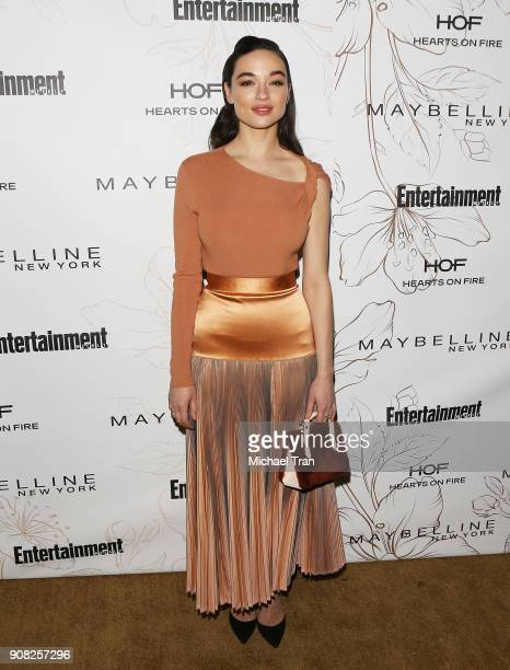 Crystal Reed attends the Entertainment Weekly hosts celebration honoring nominees for The Screen Actors Guild Awards held on January 20 2018 in Los...