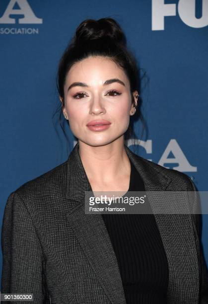 Crystal Reed attends the FOX AllStar Party during the 2018 Winter TCA Tour at The Langham Huntington Pasadena on January 4 2018 in Pasadena California