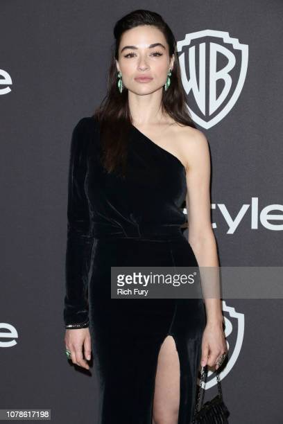 Crystal Reed attends the InStyle And Warner Bros Golden Globes After Party 2019 at The Beverly Hilton Hotel on January 6 2019 in Beverly Hills...