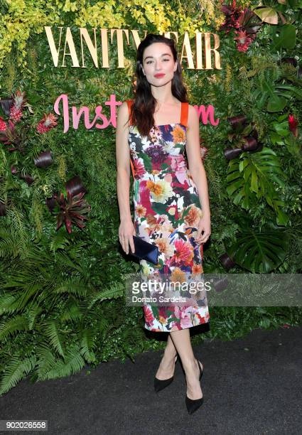 Crystal Reed attends Vanity Fair x Instagram Celebrate the New Class of Entertainers at Mel's Diner on Golden Globes Weekend at Mel's Diner on...