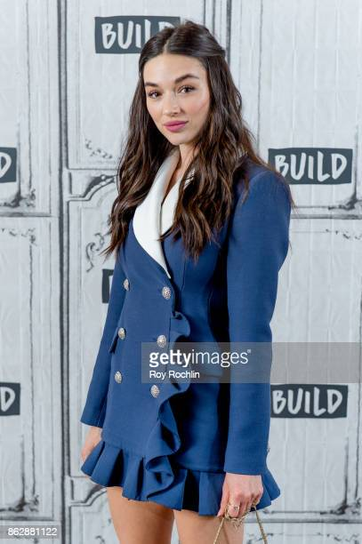 Crystal Reed discusses 'Gotham' with the Build Series at Build Studio on October 18 2017 in New York City