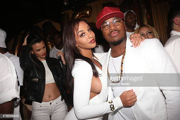 Crystal Renay and NeYo attend Von Smith's birthday celebration at 1OAK on June 9 in New York City