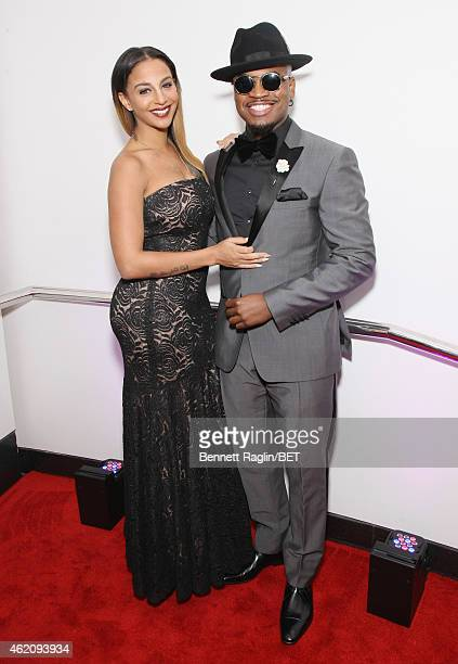 Crystal Renay and singer NeYo attends The BET Honors 2015 at Warner Theatre on January 24 2015 in Washington DC