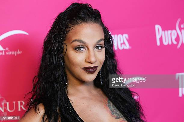 Crystal Renay Smith arrives at the OK Magazine's So Sexy LA at the Skybar at Mondrian on May 18 2016 in West Hollywood California