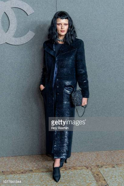 Crystal Renn attends the Chanel Metiers D'Art 2018/19 Show at The Metropolitan Museum of Art on December 04 2018 in New York City