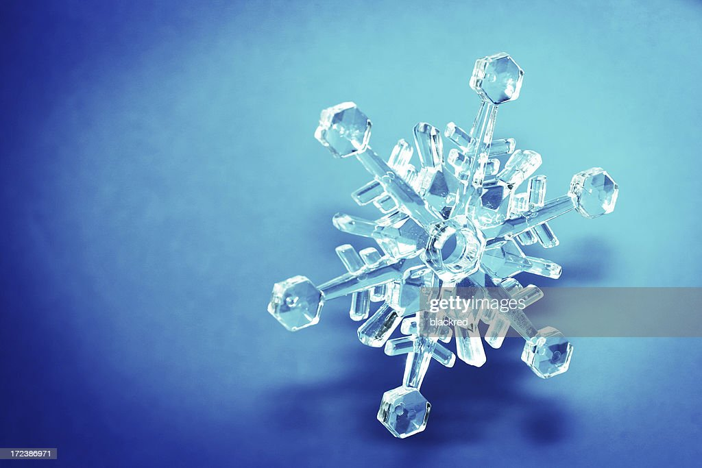 Crystal Snowflake : Stock Photo