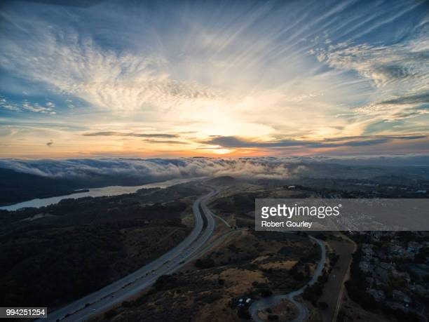 crystal springs sunset - gourley stock pictures, royalty-free photos & images