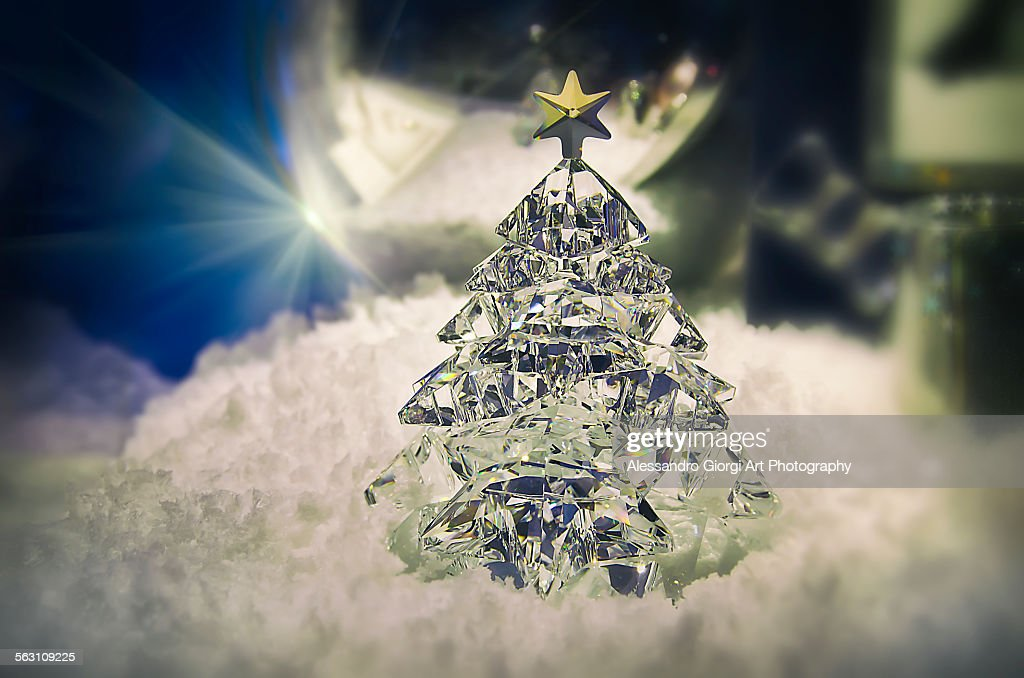 Crystal tree : Foto stock