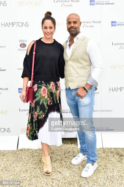 Crystal Willis and Jarret Willis attend the Hamptons Magazine Memorial Day Celebration With Cover Star Hilary Swank Presented by Bespoke Real Estate...