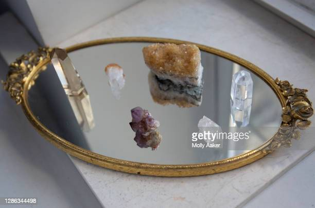 crystals in a window - ceremony stock pictures, royalty-free photos & images