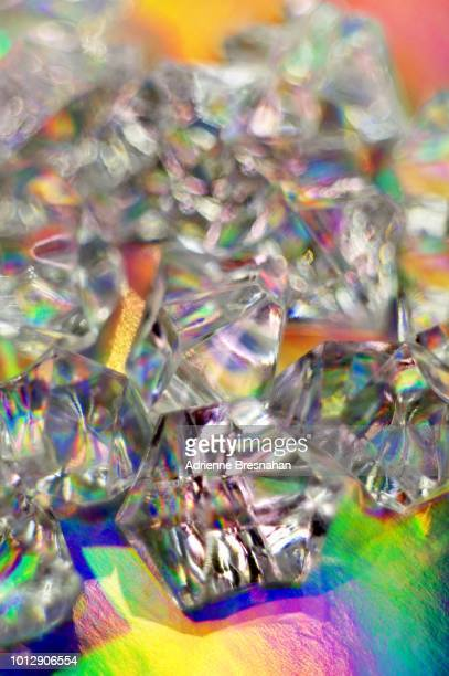 Crystals on Holographic Foil