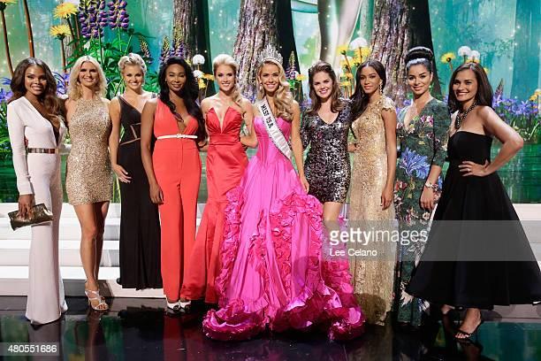 Crystle Stewart Michelle McLeanBailey Danielle Doty Nana Meriwether Tara Conner Miss USA Olivia Jordan of Oklahoma Kimberly Pressler Leila Umenyiora...
