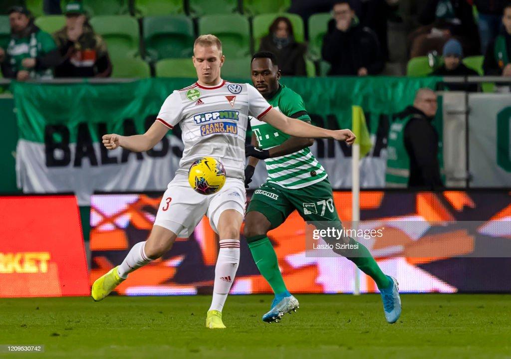 Ferencvarosi TC v DVSC - OTP Bank Liga : Photo d'actualité
