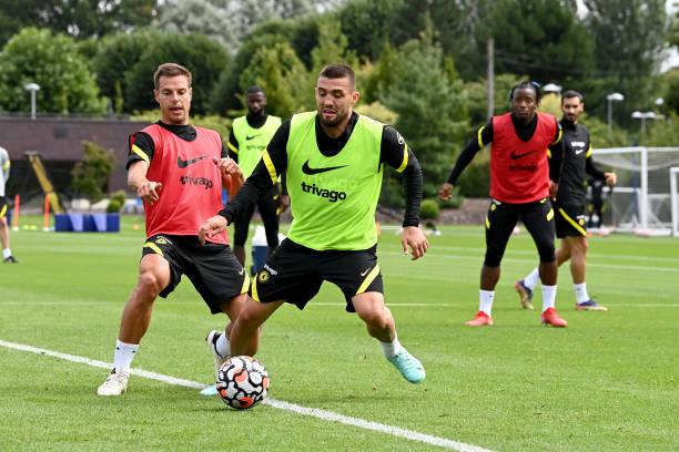 GBR: Chelsea Pre-Season Training Session