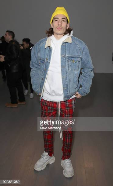 HŽctor Beller'n attends the Christopher Raeburn Show during London Fashion Week Men's January 2018 at on January 7 2018 in London England