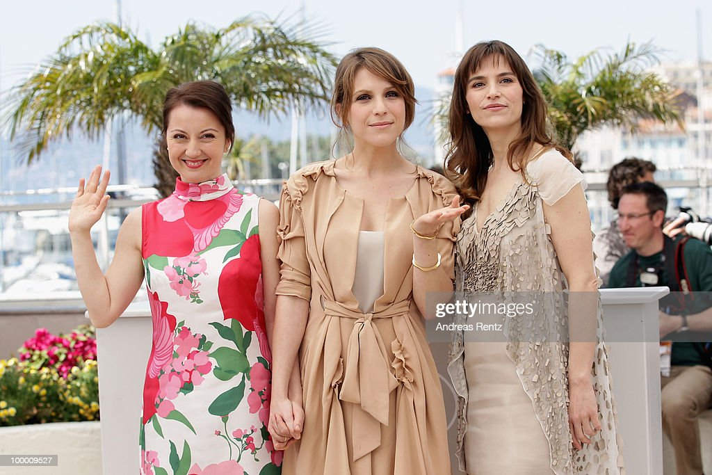 ctress Alina Berzenteanu, Stefania Montorsi and Isabella Ragonese attend the 'Our Life' Photocall at the Palais des Festivals during the 63rd Annual Cannes Film Festival on May 20, 2010 in Cannes, France.