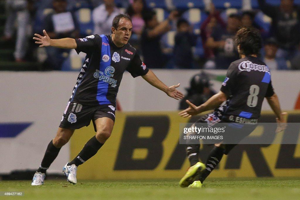 Puebla v Santos - Apertura 2014 Liga MX