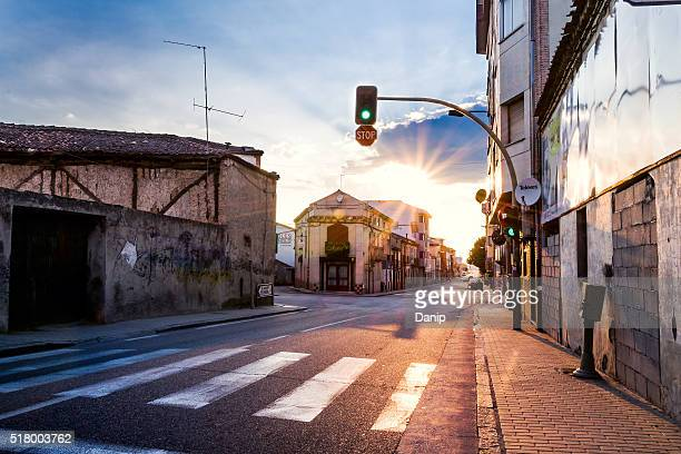 cuatro calles - semaphore stock pictures, royalty-free photos & images