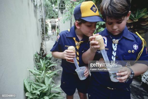 Cub Scouts Help Control Dengue Fever in Puerto Rico