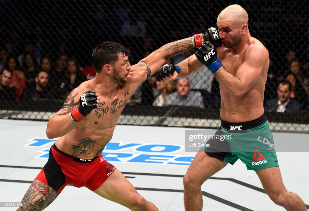 UFC Fight Night: Swanson v Lobov : News Photo