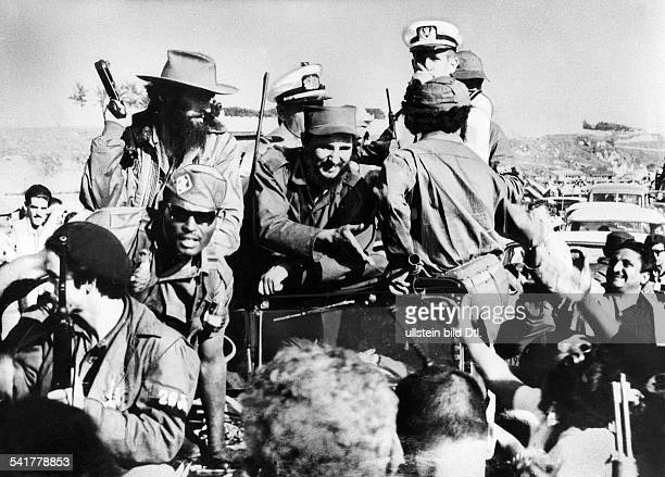 Cuba 1959 Revolution Fidel Castro * Politician Cuba Head of Government 1959 Head of State 1976 The revolutionists led by Fidel Castro and cheered on...