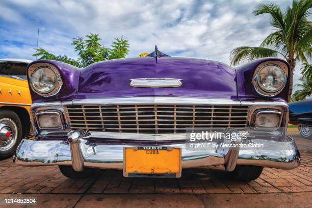 cuba - cars - bumper stock pictures, royalty-free photos & images