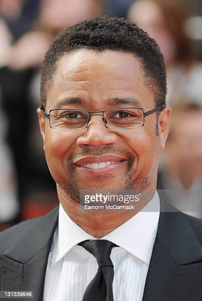 Cuba Gooding Jnr arrives on the red carpet for The Philips British Academy Television Awards at Grosvenor House on May 22 2011 in London England