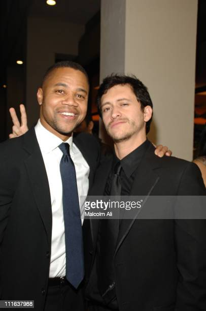 Cuba Gooding Jr and Clifton Collins Jr during 'Dirty' Los Angeles Premiere Arrivals at Writers Guild Theater in Beverly Hills California United States