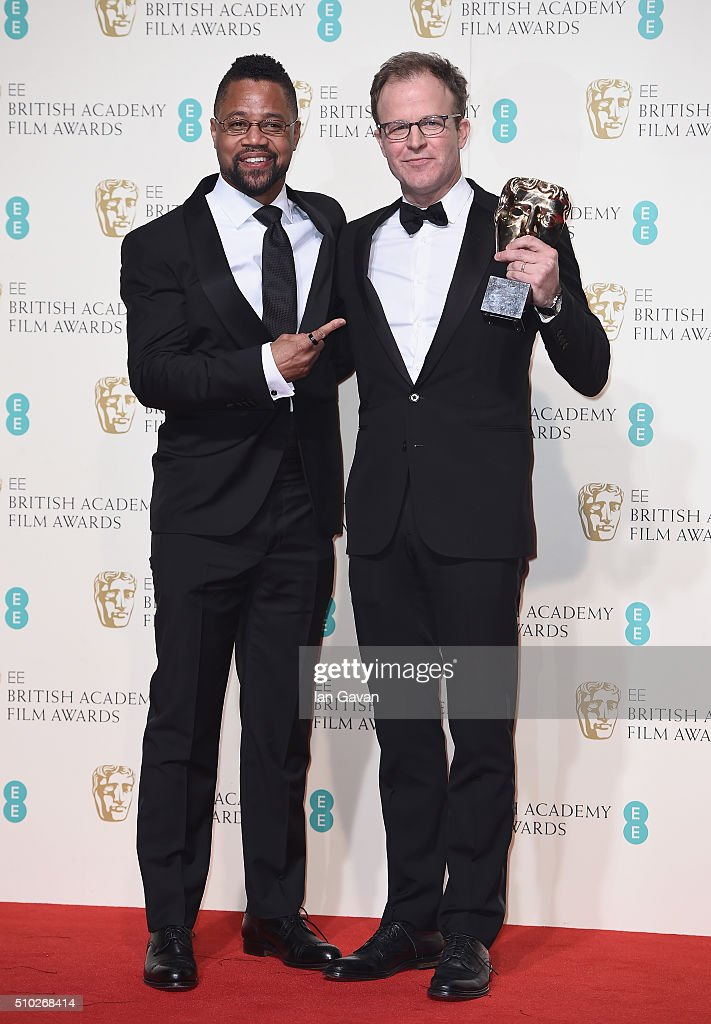 EE British Academy Film Awards - Winners Room : Foto jornalística