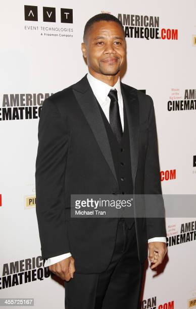 Cuba Gooding Jr arrives at the 27th American Cinematheque Award honoring Jerry Bruckheimer held at The Beverly Hilton Hotel on December 12 2013 in...