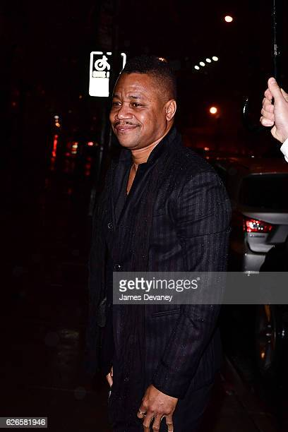 Cuba Gooding Jr arrives to the 30th FN Achievement Awards at IAC Headquarters on November 29 2016 in New York City