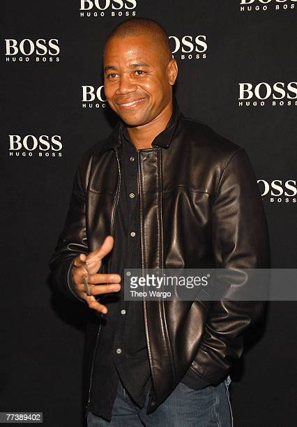 Cuba Gooding Jr. At the BOSS Black Spring 2008 Fashion Show at the Cunard Building in New York City on October 17, 2007
