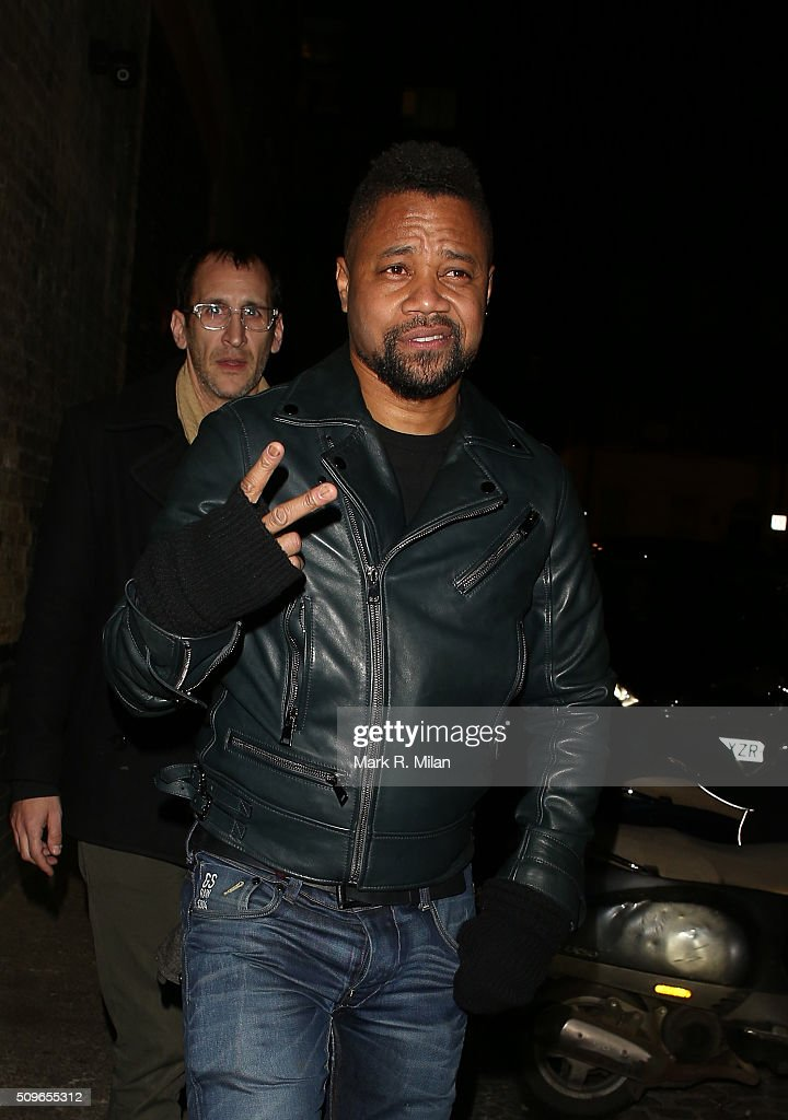 Cuba Gooding Jr at the Chiltern Firehouse on February 11, 2016 in London, England.