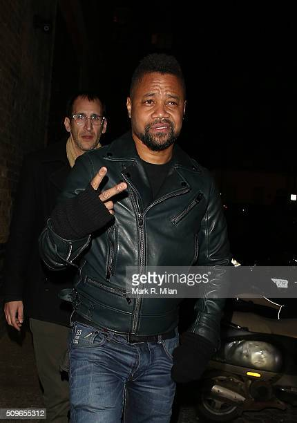 Cuba Gooding Jr at the Chiltern Firehouse on February 11 2016 in London England