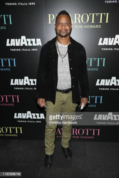 Cuba Gooding Jr attend the Pavarotti New York Screening at iPic Theater on May 28 2019 in New York City